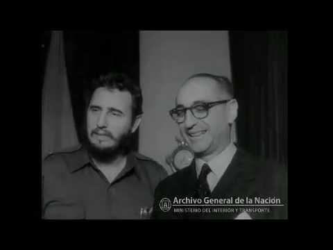 Fidel Castro en Buenos Aires, 1959 - Archivo General de la Nación