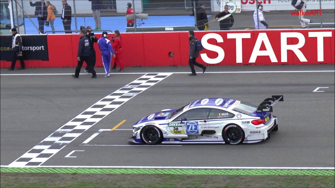 Start German Racing Cars Deutsche Rennautos Bmw M4 Mercedes