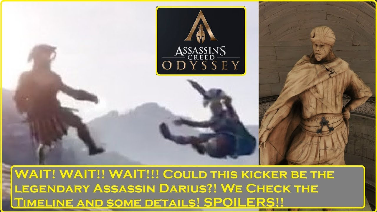 Assassin S Creed Odyssey Will We Be Playing As Darius Youtube