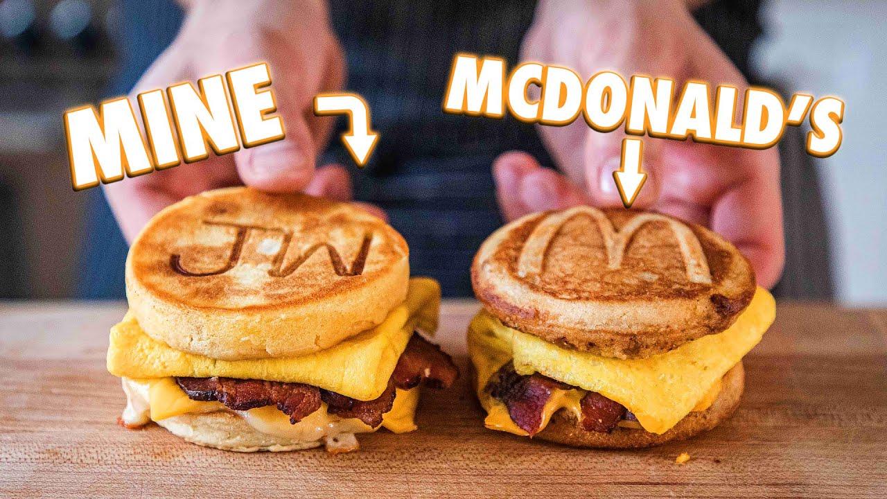 McDonald's McGriddle (But Better)