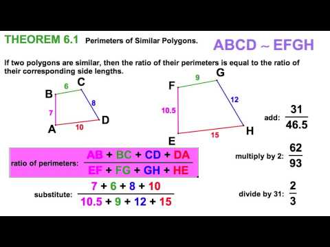 63 identifying similar polygons scale factor youtube 63 identifying similar polygons scale factor ccuart Images
