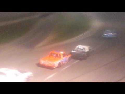 10/23/16 DELLS RACEWAY PARK MIDWEST TRUCK SERIES FEATURE RACE - COLLIN SLIFE #31 AGE 13