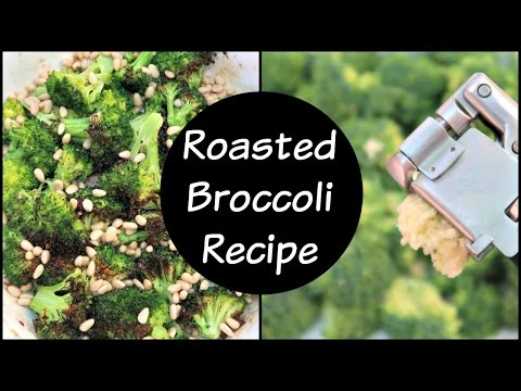 Roasted Broccoli Recipe with Lemon and Garlic