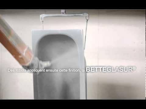 bette fabrication d une baignoire bette