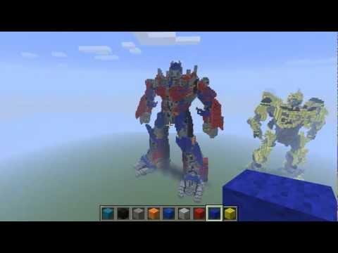 Minecraft - Optimus Prime V2 by PLAYER UNOZ