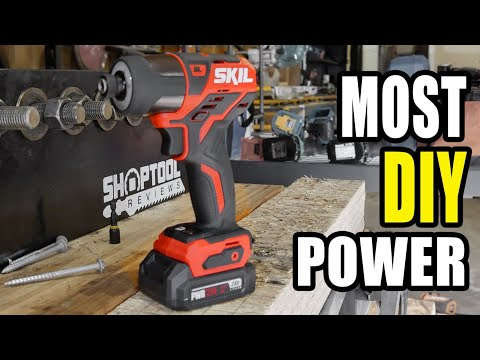 Most Powerful DIY Impact Driver - Skil 12V Brushless
