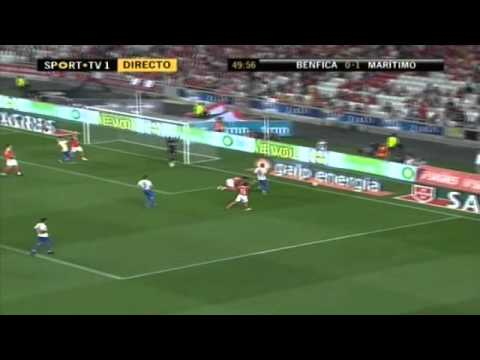 Angel di Maria vs Maritimo (H) 09-10 by Silvan