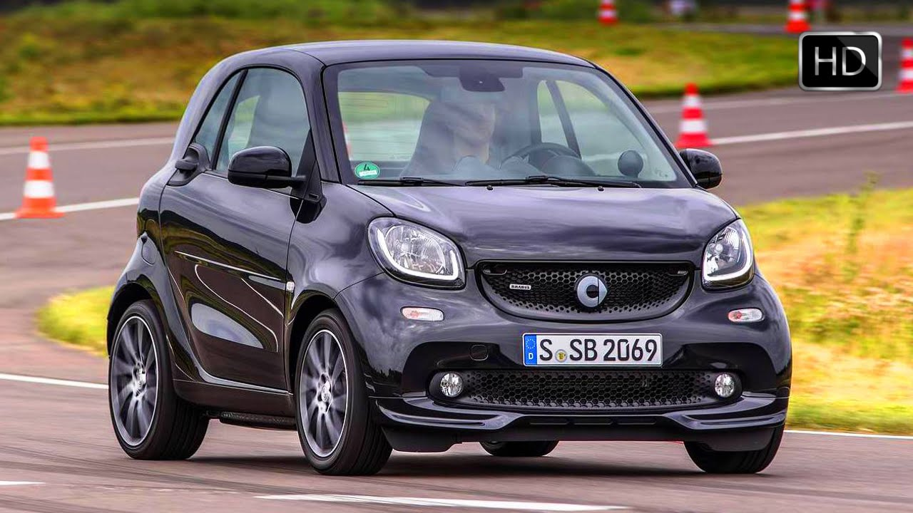 2017 Smart Brabus Fortwo Xclusive Black Design Racetrack Test Drive Hd Video Isquared Cars