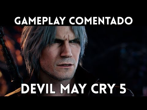 GAMEPLAY exclusivo DEVIL MAY CRY 5 (Xbox One, PC, PS4) Puro ESPECTÁCULO HACK & SLASH thumbnail