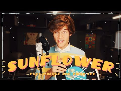 Remaking SUNFLOWER by POST MALONE & SWAE LEE in ONE HOUR!   ONE HOUR SONG CHALLENGE
