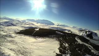 Polarsirkelen Paragliding mars 2014