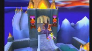 Spyro 2 : Gateway to Glimmer [PS1] - 6 ) Ripto et les rivages du dragon