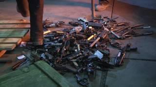 В Приангарье уничтожили 3 тысячи единиц незаконного оружия (фото, видео)