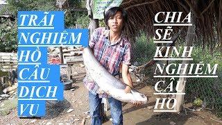 TRÃI NGHIỆM  VÀ CHIA SẼ KINH NGHIỆM CÂU CÁ TRA HỒ GIẢI TRÍ |HUYNH KHOA FISHING
