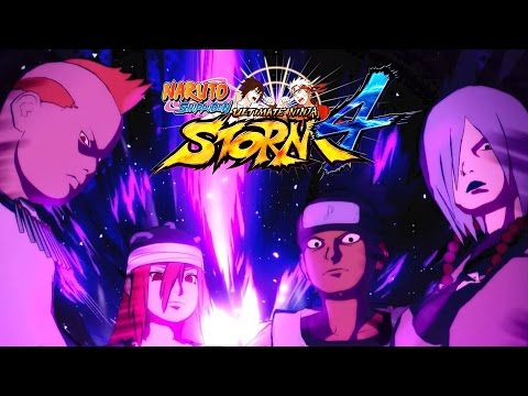 Naruto Shippuden: Ultimate Ninja Storm 4 - Sound Four DLC Pack Trailer