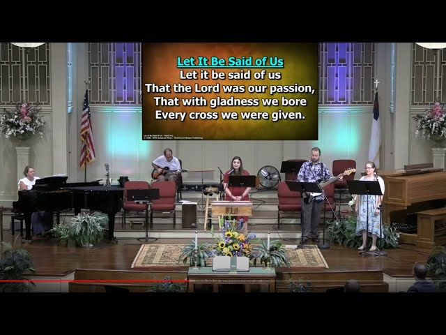 Father's Day Service June 21, 2020 [TRIMMED] at First Baptist Thomson