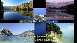 I laghi piu' belli della terra - The most beautiful lakes of the earth
