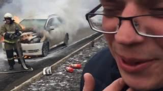 видео Сколько стоит огнетушитель для автомобиля? ОП-2, ОУ-2 и другие