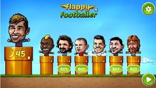 Flappy Footballer Hand Puppets - Android Gameplay HD