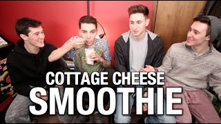 COTTAGE CHEESE SMOOTHIE!