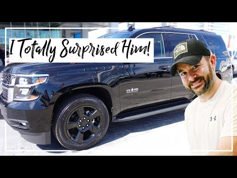 SURPRISING MY HUSBAND WITH A NEW CAR