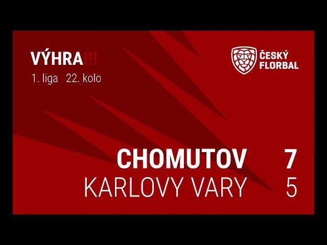 #Mistr31 - MatchDay #14 - Florbal Chomutov vs FB Hurrican Karlovy Vary
