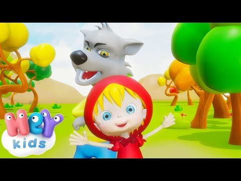 Caperucita Roja y el lobo feroz - Cuentos Infantiles en español   HeyKids