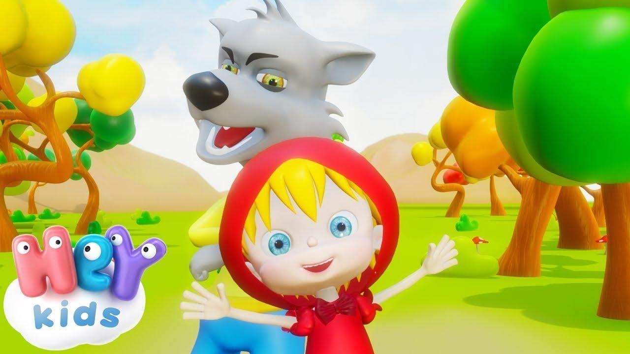 Caperucita Roja y el lobo feroz - Cuentos Infantiles en
