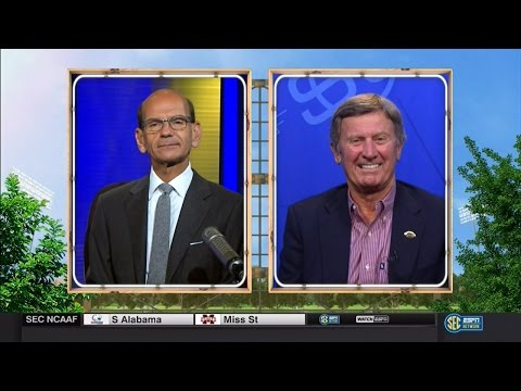 Florida Football: Steve Spurrier on Paul Finebaum 8-30-16