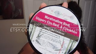 NaturelleGrow Marshmallow Root, Slippery Elm Bark & Cinnamon Conditioner Review