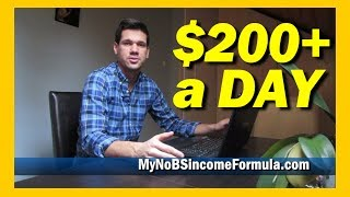 How To Make Money On The Side - $200 a Day Online is EASY!