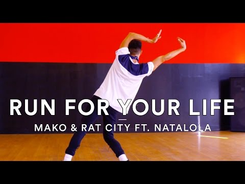 Mako & Rat City ft. Natalola - Run For Your Life | Darrion Gallegos Choreography | Dance Stories