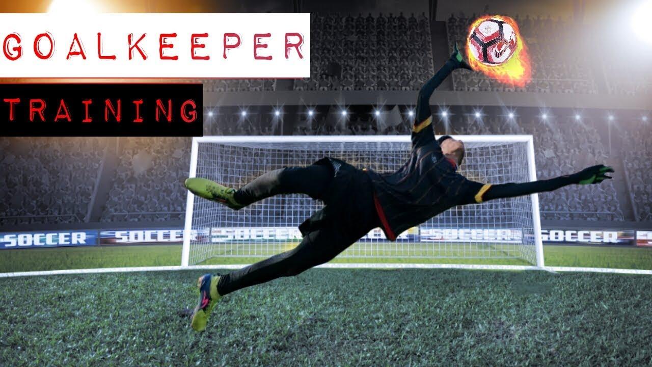 Cara Meningkatkan Kecepatan Reflex Penjaga Gawang Goalkeeper Training Youtube
