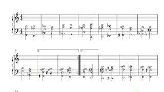 Bossa Nova on harpsichord