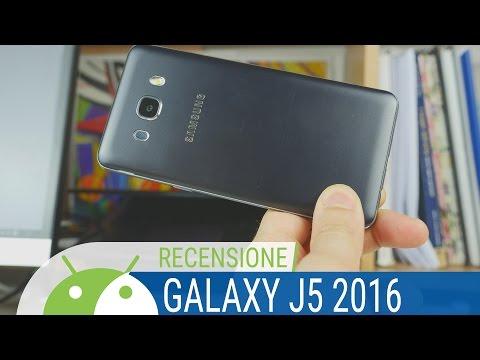 Samsung Galaxy J5 2016 recensione ITA da TuttoAndroid