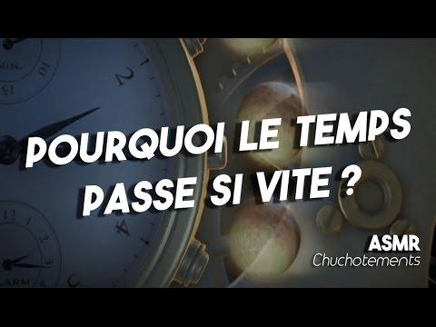 Pourquoi le temps passe si vite ? ASMR français  Chuchotements, bande sonore  french ASMR