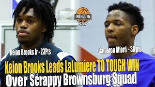 Keion Brooks And Lalumiere TO MUCH FOR Tough Brownsburg Squad