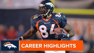 Shannon Sharpe's Career Highlights | Broncos Throwback
