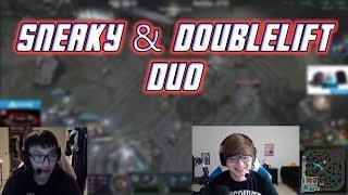 Sneaky & Doublelift Duo: The PreSeason Fiesta Show