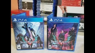 DEVIL MAY CRY 5 STANDARD & DELUXE EDITION UNBOXING