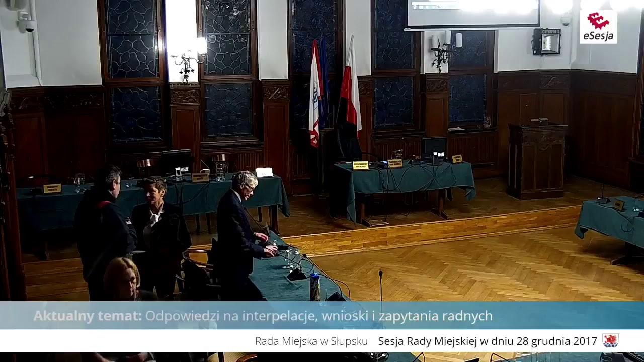 Sesja Rady Miasta Słupska