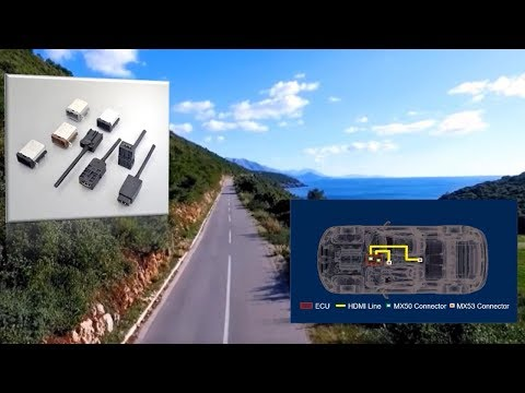 New Variation Added to the Automotive HDMI Connector MX50 / 53 Series