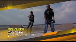 #SpiceOfIndia - Appalam (2 April 2017)