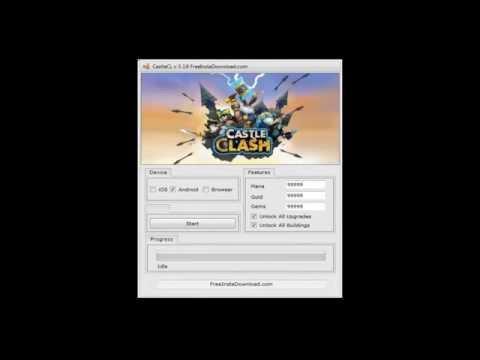Castle Clash Hack- Cheat New Update Work 100%