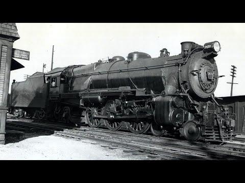 PRR K4s #3882 leaving Beverly, NJ (1952)