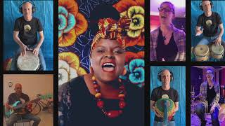 EMASHIE/Claudia Masika- Three Little Birds (Bob Marley Quarantine Cover)
