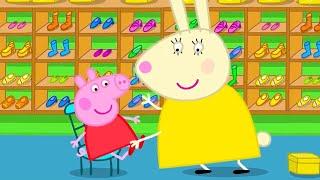 Peppa Pig en Español Episodios completos  A Peppa le encanta ir de compras   Pepa la cerdita