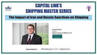 The Impact of Iran and Russia Sanctions on Shipping