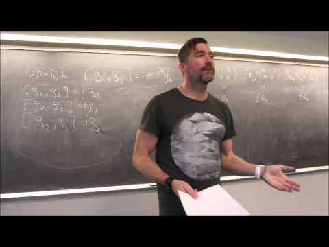 Particle Physics Topic 7: Spinors I