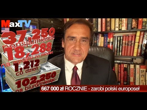 #R Max Kolonko: Ile zarobi polski EuroOsiołek - fragm z MaxTVGO.com
